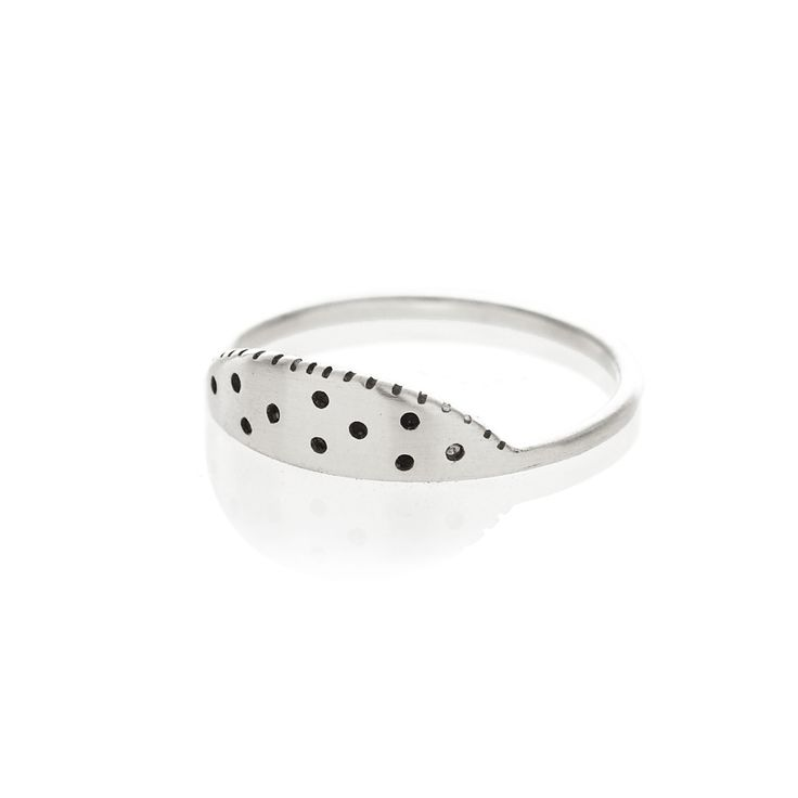 Silver watermelon ring