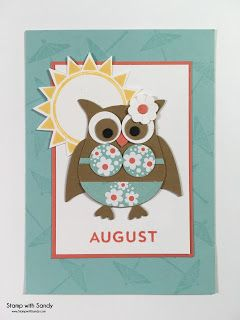 Stamp with Sandy: Owl Punch Fridge Magnets, Part Two