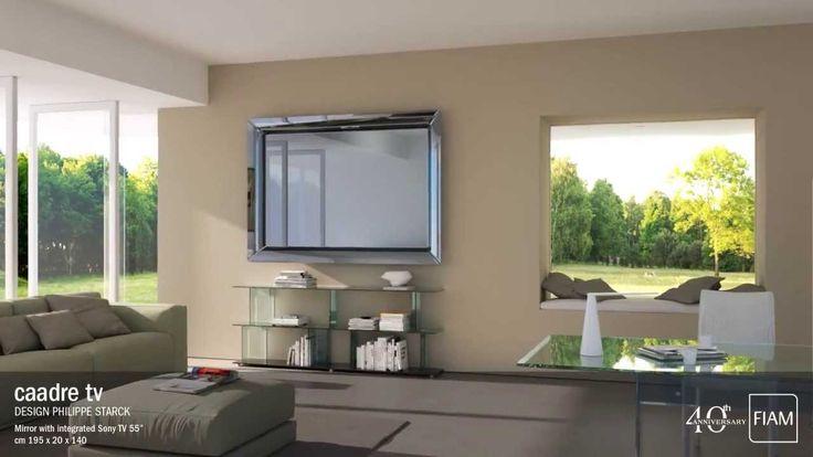 Novità Fiam: Caadre Specchio Tv design Philippe Starck