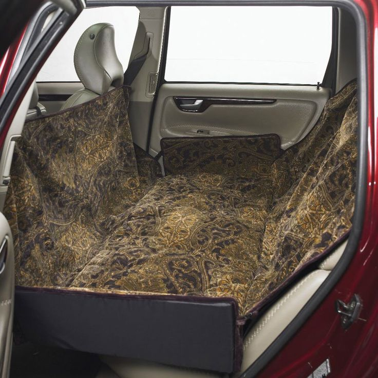 Have to have it. Bowsers Microvelvet Hammock Dog Car Seat Cover - $164.99 @hayneedle
