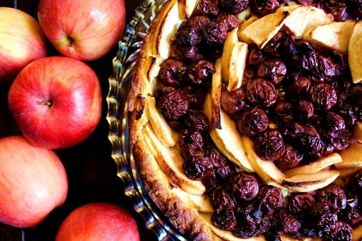 Kirsch-Apfelkuchen #ichbacksmir #apfelkuchen #apfel #apple