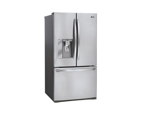 LG LFX31945ST: Super-Capacity 3 Door French Door Refrigerator with Door-in-Door™ | LG USA