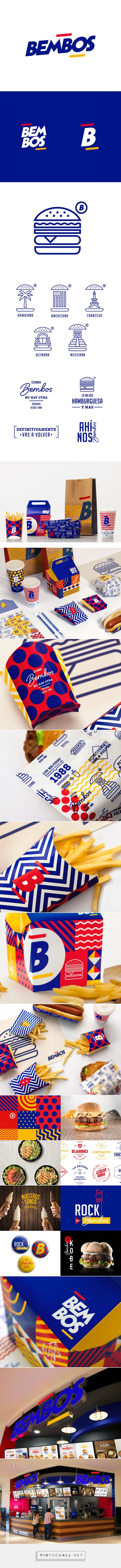 Bembos fastfood packaging designed by Infinito Consultores - http://www.packagingoftheworld.com/2015/09/bembos.html