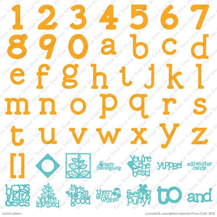 138 best images about cricut handbook images on pinterest for Cricut lettering machine