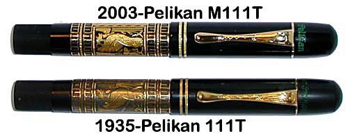 Pelikan Toledos from the collection of Rick Propas, photography by Rick Propas.