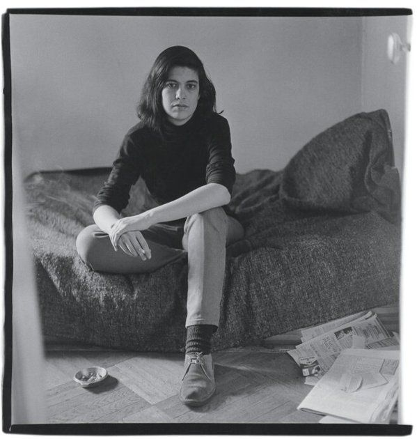 stephanievenerande:  Susan Sontag, grasped by Diane Arbus, altruists by extension activists,ontheir own way.