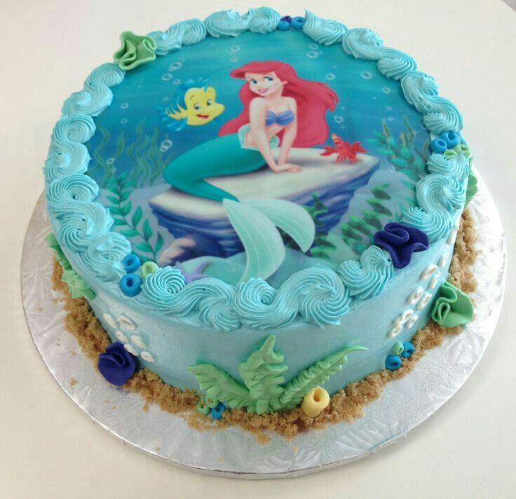 Sirenita cake