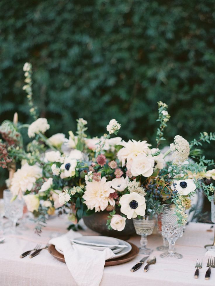 Photography : Valentina Glidden Photography Read More on SMP: http://www.stylemepretty.com/2016/03/25/whimsical-botanical-franciscan-gardens-wedding-inspiration/