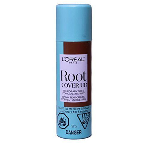 L'Oreal Paris Hair Color Root Cover Up Temporary Gray Concealer Spray, Light to Medium Brown, 2 Ounce *** Read more info by clicking the link on the image. #hairstyle