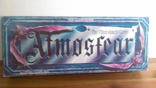 Atmosfear: Maggots! Whose turn is it? Answer me! A combination of video and board game, Atmosfear had players everywhere shouting at their tellies in the 90s. Check it out! http://www.ninetieskid.co.uk/