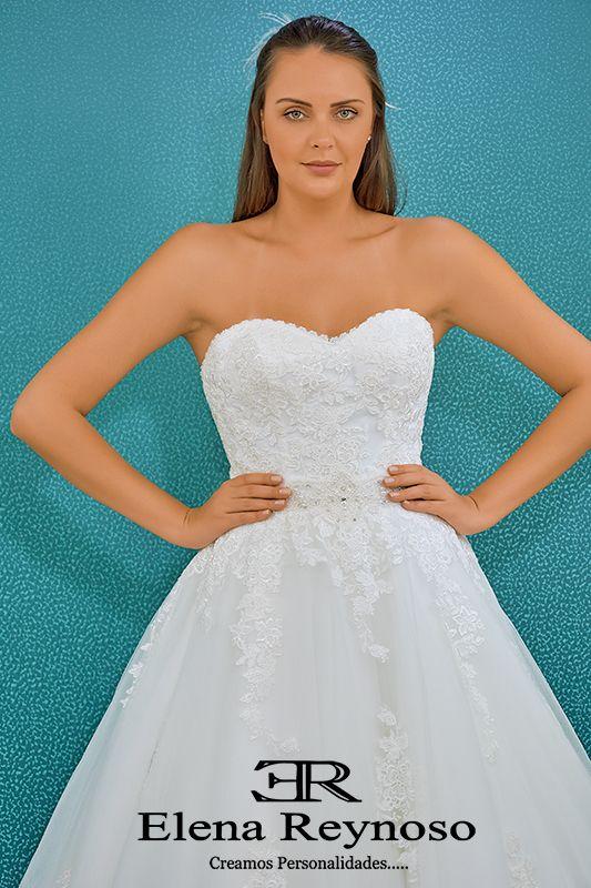 hermoso vestido de novia colección 2018 ! www.elenareynoso