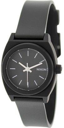 Nixon Women's Time Teller A425000 Black Plastic Quartz Fashion Watch #watches #womens