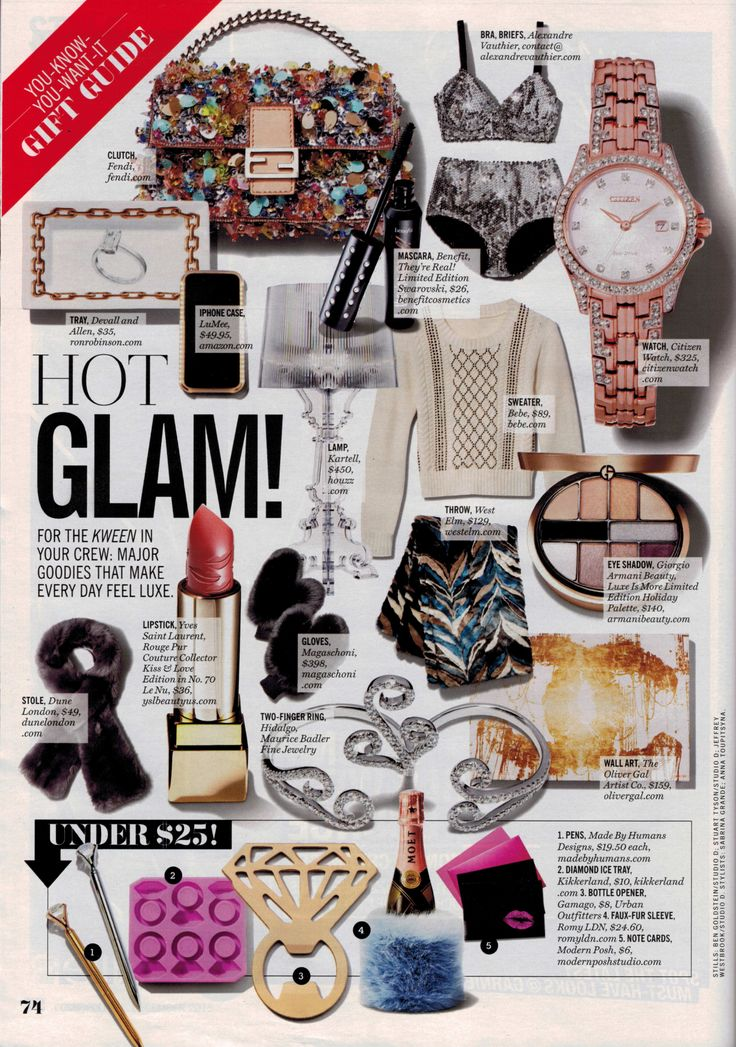 Have you seen us in @Cosmopolitan's  Holiday Gift Guide? Check us out in the December issue on page 74!