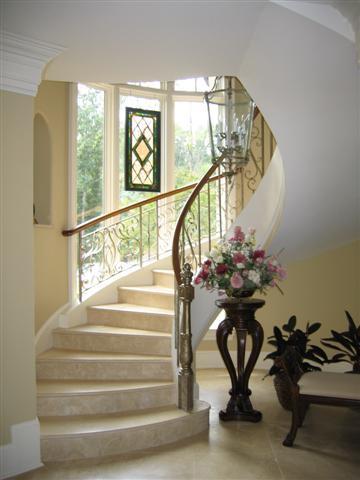John B. Scholz Design.....gorgeous Staircase