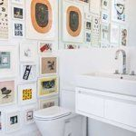 5 Beautiful Bathroom Gallery Walls | Apartment Therapy