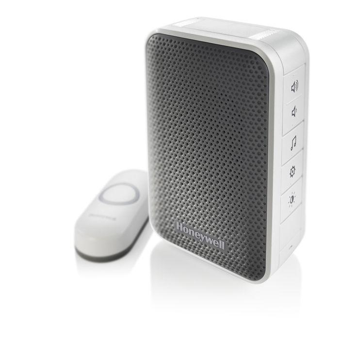 Honeywell White Wireless Doorbell