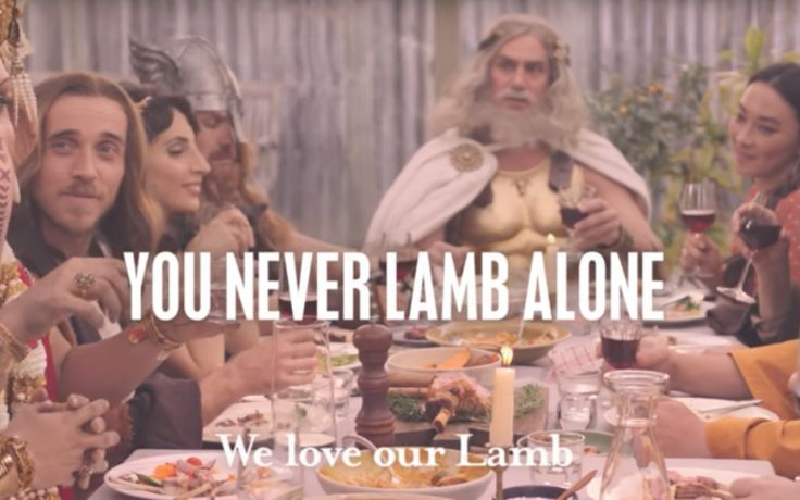 Australia's advertising watchdog has received complaints about an ad from Meat and Livestock Australia which features religious figures eating lamb.