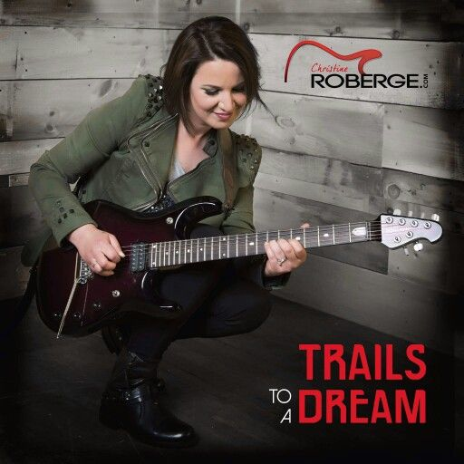 The artwork for Trails to a Dream! www.christineroberge.com