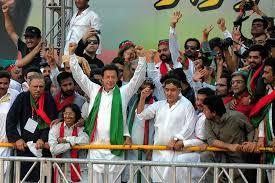 My innocent politics: Imran Khan is leading the accountability rally in ...