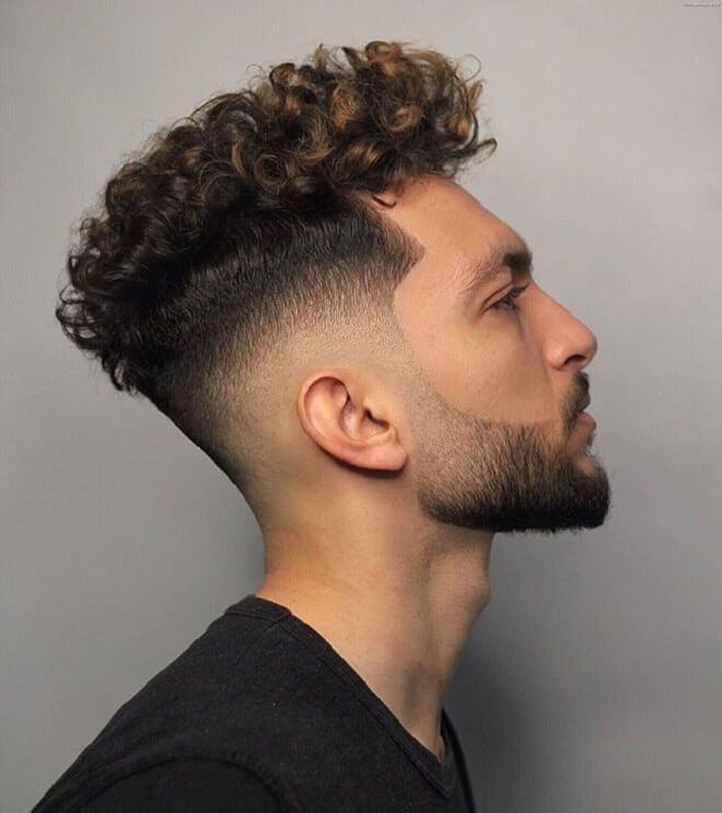 Short Side With Curly Hair The Coolest Short Sides Long Top Haircuts Men S Hairstyles Curly Hair Men Mens Hairstyles Curly Men S Curly Hairstyles