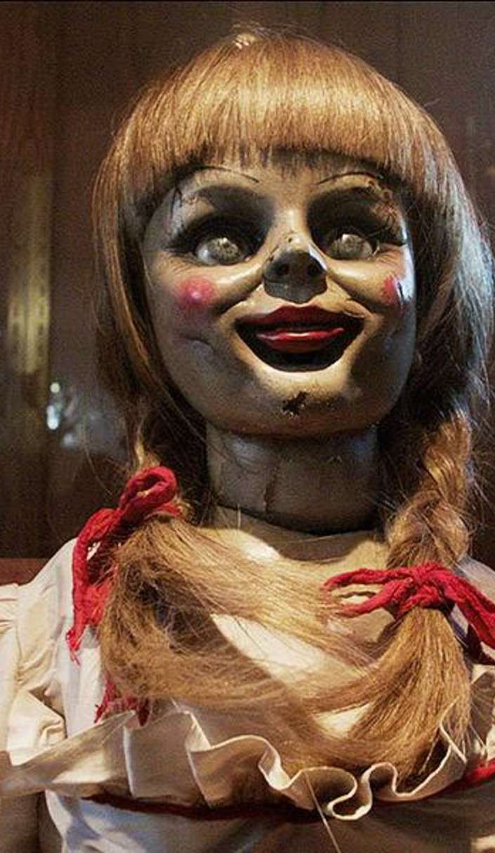 best 25 annabelle doll ideas on pinterest annabelle doll movie the conjuring annabelle and. Black Bedroom Furniture Sets. Home Design Ideas