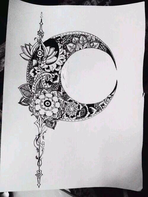 Flower pot moon