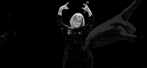 fuckyasadele:  Adele at the Toyota Center in Houston on November