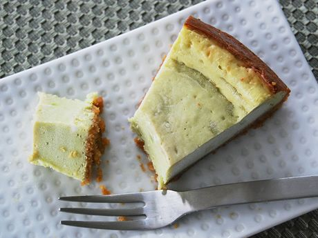 Avocado Cheesecake - avocado makes it even creamier and adds in some heart healthy fats in place of heavy cream