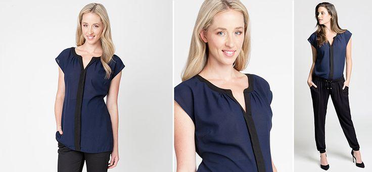 Lara Bluse aus der Kategorie Business Looks von Mamarella - Details