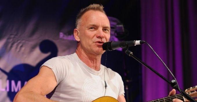 Brian Johnson, vocalista de AC/DC, estará en el nuevo disco de Sting