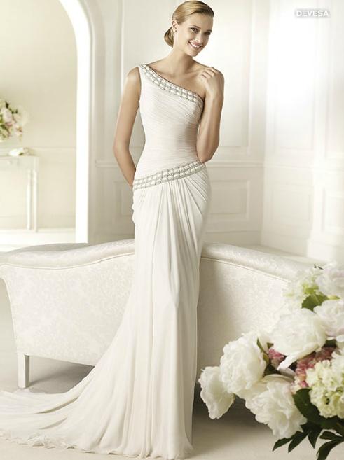 robe de mariée grecque