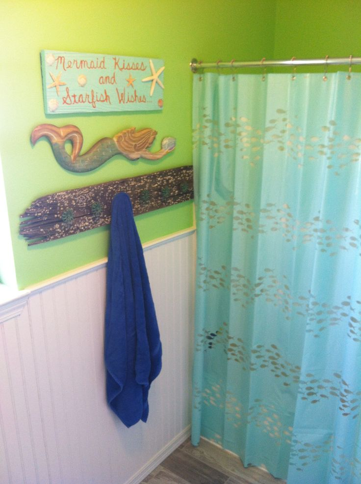 17 best ideas about mermaid bathroom on pinterest mermaid bathroom decor mermaid room decor - Mermaid decor bathroom ...