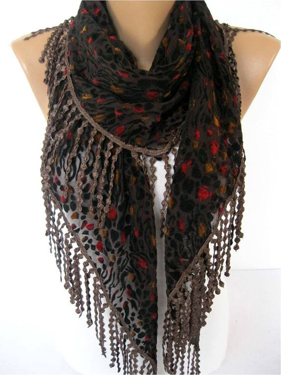NEWElegant scarf  Fashion scarf  scarves Triangular by MebaDesign, $17.90