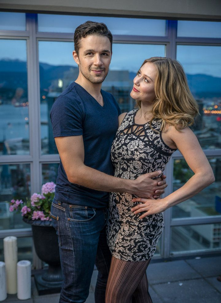 """Check out photos from the Hallmark Channel original movie """"Summer in the City,"""" starring Julianna Guill, Marc Bendavid,…"""