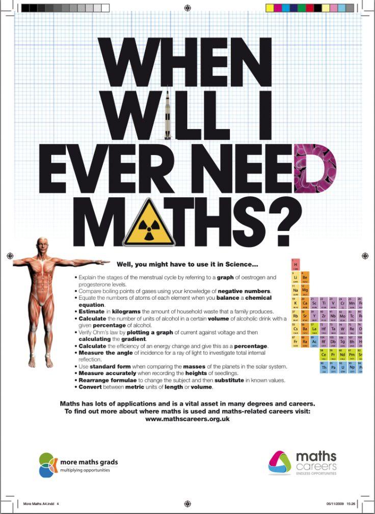 25+ best ideas about Math poster on Pinterest | My i maths, Math 4 ...