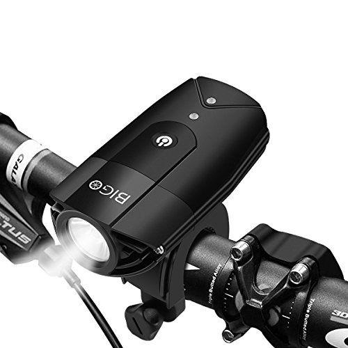 Cheap Bigo Led Bike Lights Usb Rechargeable Bike Front Light 900 Lumens Super Bright Bicycle Lights Bike Headlight Ip65 Waterproof 3 Light Modes Easy To Install
