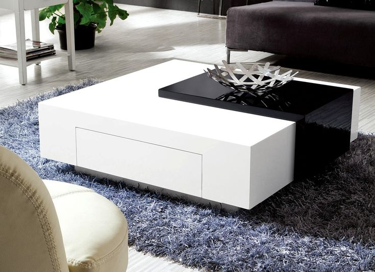 50+ White Gloss Coffee Tables - Cool Rustic Furniture Check more at http://www.buzzfolders.com/white-gloss-coffee-tables/