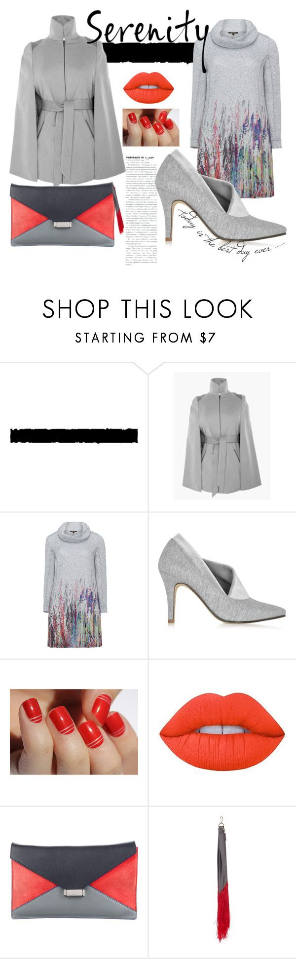 """Grey Girl"" by notyourgina ❤ liked on Polyvore featuring Tim Holtz, Twister, Zoe Lee, SoGloss, Lime Crime, CÉLINE and Hillier Bartley"