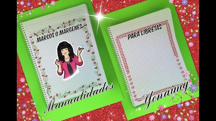 Ideas De MÁrgenes Para Decorar Cuadernos Y Libretas: Más De 25 Ideas Increíbles Sobre Decorar Libretas En