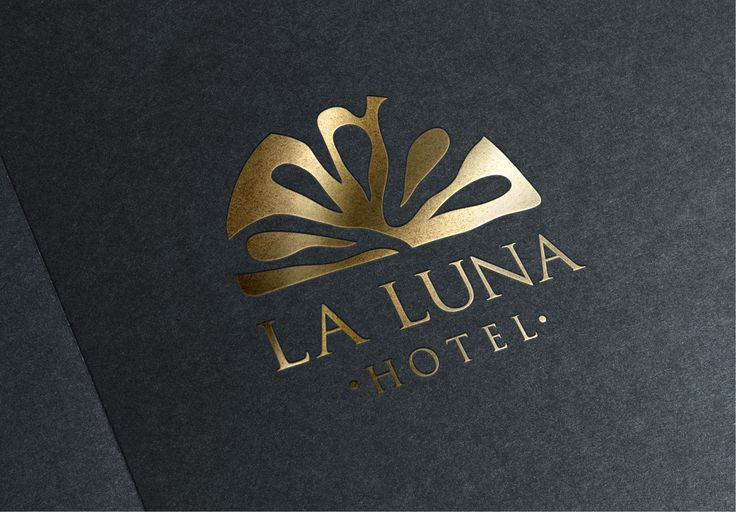 Logo Design for La Luna Hotel in Skiathos island, by Egg Visual Communication. www.egg.com.gr