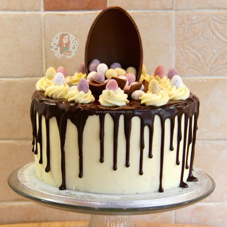 Mini Egg Drip Cake!