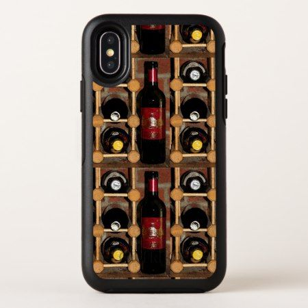 Wine Rack Abstract OtterBox iPhone X Case - tap to personalize and get yours