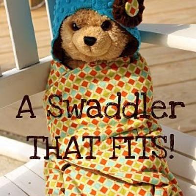 Baby Swaddler Blanket Tutorial
