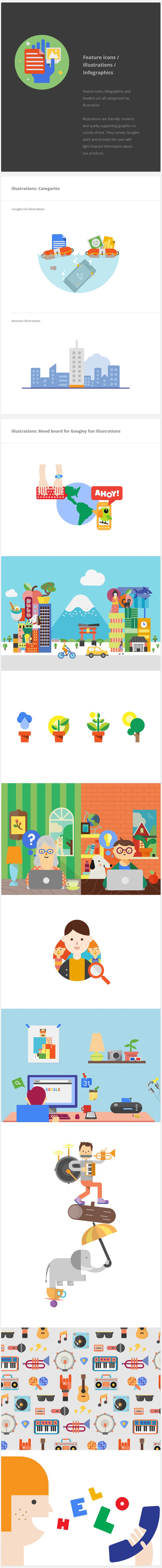 Google Visual Assets Guidelines - Part 2 on Behance