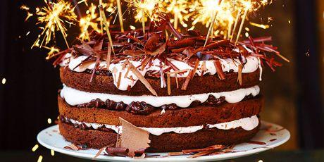 Chocolate Celebration Cake Recipes   Food Network Canada