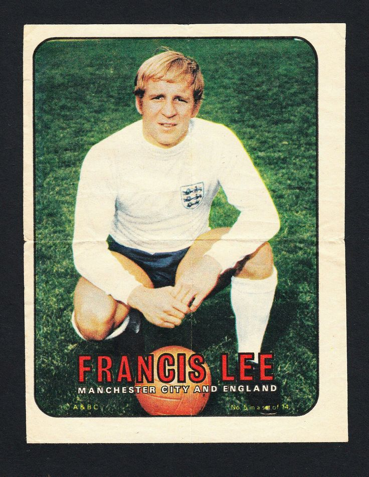 ABC pinups - Francis Lee Manchester city