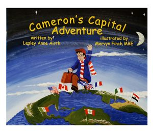 $9.95 Cameron's Capital Adventure: Let your child embark on Cameron's Capital Adventure in search of his missing blanket. Together, they will travel through twelve capital cities on six intriguing continents. Will the missing blanket ever be found? Available at www.themountieshop.ca