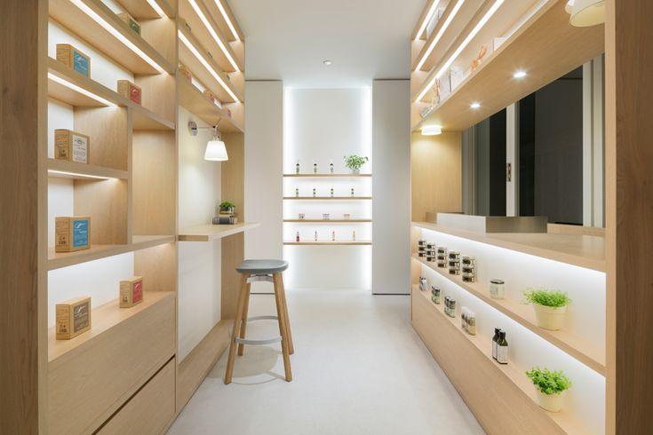 Nendo designed cosmetics store in Tokyo incorporates self study beauty areas - Retailand Retail Design
