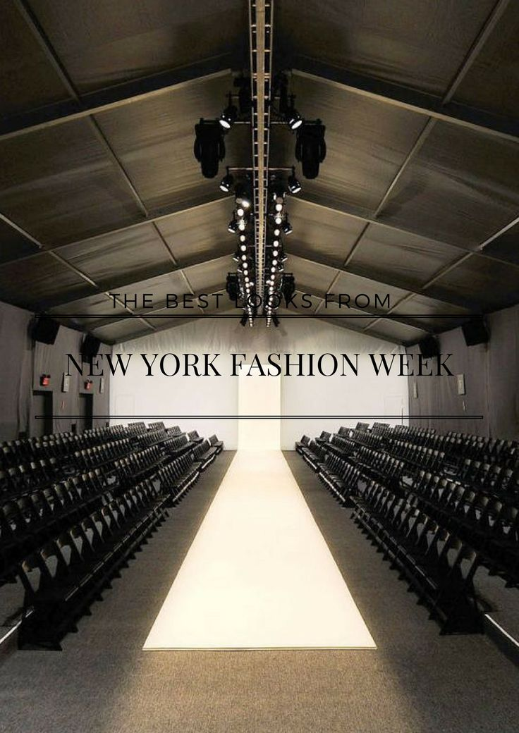 The best looks from NYWF Runway SS18 http://mariannelle.com