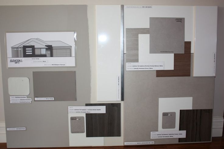 Exterior Colour Selections - ELEMENTS AT HOME